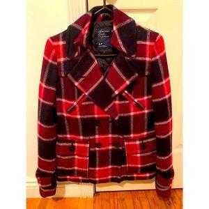American Eagle Plaid Jacket